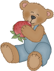 Our U Pick Strawberry mascot.  Beary berry sweet!
