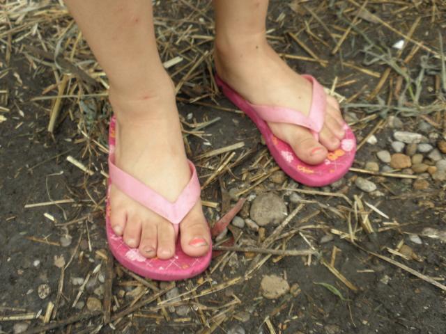 Kelsey's sweet feet!